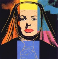 ingrid bergman - the nun [ii.314] by andy warhol
